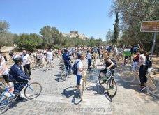 Good News: Με ξύλινα ποδήλατα γέμισε η Αθήνα - Δείτε φωτό από την ποδηλατοδρομία - Κυρίως Φωτογραφία - Gallery - Video 6