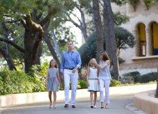Βασιλιάς Φελίπε & Βασίλισσα Λετίσια: 28 νέες, καλοκαιρινές  φωτό με τα δυο κοριτσάκια τους - Κυρίως Φωτογραφία - Gallery - Video 12