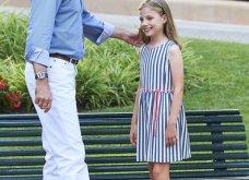 Βασιλιάς Φελίπε & Βασίλισσα Λετίσια: 28 νέες, καλοκαιρινές  φωτό με τα δυο κοριτσάκια τους - Κυρίως Φωτογραφία - Gallery - Video 17