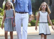 Βασιλιάς Φελίπε & Βασίλισσα Λετίσια: 28 νέες, καλοκαιρινές  φωτό με τα δυο κοριτσάκια τους - Κυρίως Φωτογραφία - Gallery - Video 20