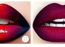 Ombré lips- step by step πως θα πετύχετε τα χείλη του 2016-2017: Ποθητά, σκούρα και απόρθητα - Κυρίως Φωτογραφία - Gallery - Video