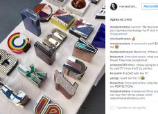 Πανικός στον κόσμο της μόδας με τα clutches της Μαίρης Κατράντζου: Όλα τα γράμματα της αλφαβήτου με φαντασία  - Κυρίως Φωτογραφία - Gallery - Video 6