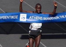 Ο Κενυάτης Λούκα Λόμπουαν ο μεγάλος νικητής του Μαραθωνίου της Αθήνας - Πρώτος Έλληνας ο Χριστόφορος Μερούσης - Κυρίως Φωτογραφία - Gallery - Video