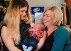 Βρετανίδα γέννησε το εγγόνι της- Έγινε παρένθετη μητέρα για το παιδί της 21χρονης κόρης της!  - Κυρίως Φωτογραφία - Gallery - Video 6