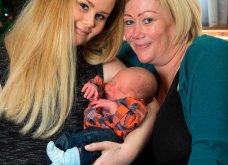 Βρετανίδα γέννησε το εγγόνι της- Έγινε παρένθετη μητέρα για το παιδί της 21χρονης κόρης της!  - Κυρίως Φωτογραφία - Gallery - Video