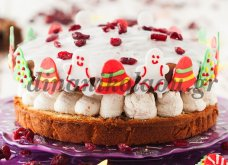 H Ντίνα Νικολάου μας ετοιμάζει βασιλόπιτα κέικ με αποξηραμένα φρούτα και κρέμα κάστανου - Κυρίως Φωτογραφία - Gallery - Video