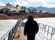 Μαγευτικά στιγμιότυπα: Οι παγωμένες λίμνες της Πρέσπας & της Καστοριάς σε απίθανα κλικς - Κυρίως Φωτογραφία - Gallery - Video 4