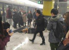 Εικόνες που σοκάρουν στο Χόνγκ Κόνγκ: Πυρομανής έβαλε φωτιά σε τρένο - 18 τραυματίες έτρεχαν τρελαμένοι  - Κυρίως Φωτογραφία - Gallery - Video