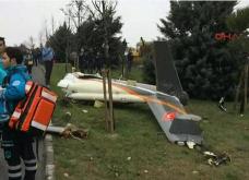 Συγκλονιστικές φώτο & βίντεο: Συνετρίβη ελικόπτερο στην Κωνσταντινούπολη - Νεκρός ο πιλότος και οι 4 επιβάτες   - Κυρίως Φωτογραφία - Gallery - Video
