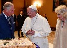 Βιολογικά λαχανικά από το κτήμα του πήγε δώρο ο πρίγκιπας Κάρολος στον Πάπα -Φώτο - Κυρίως Φωτογραφία - Gallery - Video
