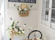 Βάψτε και στολίστε με λουλούδια το παλιό ποδήλατο: Οι ιδέες που θα μεταμορφώσουν τον άχαρο χώρο στον πιο ωραίο (Φωτό) - Κυρίως Φωτογραφία - Gallery - Video
