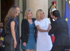 Μπριτζίτ Μακρόν: Η πιο σικ πρώτη κυρία της Γαλλίας ακόμη και με το πιο απλό λευκό φουστάνι - Κυρίως Φωτογραφία - Gallery - Video 2