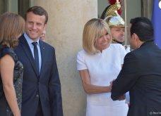 Μπριτζίτ Μακρόν: Η πιο σικ πρώτη κυρία της Γαλλίας ακόμη και με το πιο απλό λευκό φουστάνι - Κυρίως Φωτογραφία - Gallery - Video 6