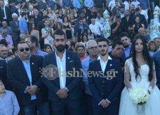 Βίντεο & Φωτό: Γάμο-βάφτιση στην Κρήτη για ρεκόρ Γκίνες- 13 νονοί & 13 κουμπάροι  - Κυρίως Φωτογραφία - Gallery - Video