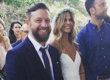 Γιάννης Βαρδής - Νατάσα Σκαφίδα: Παντρεύτηκαν στη Λήμνο - Δείτε τo παραμυθένιο νυφικό! (ΦΩΤΟ-ΒΙΝΤΕΟ) - Κυρίως Φωτογραφία - Gallery - Video