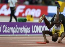 Βίντεο - το άδοξο τέλος ενός μέγιστου υπεραθλητή - Τραυματίστηκε στην τελευταία του κούρσα ο Μπολτ - Κυρίως Φωτογραφία - Gallery - Video 6