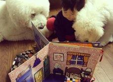 Αυτό το τρισχαριτωμένο Γιαπωνεζάκι και ο σκυλάκος της θα σας φτιάξουν την μέρα – φωτό - Κυρίως Φωτογραφία - Gallery - Video 4