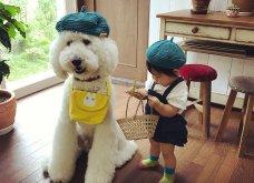 Αυτό το τρισχαριτωμένο Γιαπωνεζάκι και ο σκυλάκος της θα σας φτιάξουν την μέρα – φωτό - Κυρίως Φωτογραφία - Gallery - Video 17