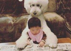 Αυτό το τρισχαριτωμένο Γιαπωνεζάκι και ο σκυλάκος της θα σας φτιάξουν την μέρα – φωτό - Κυρίως Φωτογραφία - Gallery - Video 9