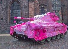 45 απίθανα σημεία η οχήματα της πόλης που διακοσμήθηκαν με πολύχρωμα πλεκτά - Κυρίως Φωτογραφία - Gallery - Video 14