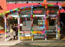 45 απίθανα σημεία η οχήματα της πόλης που διακοσμήθηκαν με πολύχρωμα πλεκτά - Κυρίως Φωτογραφία - Gallery - Video 15
