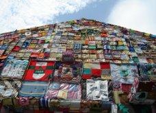 45 απίθανα σημεία η οχήματα της πόλης που διακοσμήθηκαν με πολύχρωμα πλεκτά - Κυρίως Φωτογραφία - Gallery - Video 18