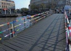 45 απίθανα σημεία η οχήματα της πόλης που διακοσμήθηκαν με πολύχρωμα πλεκτά - Κυρίως Φωτογραφία - Gallery - Video 25