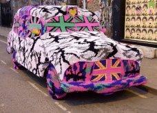 45 απίθανα σημεία η οχήματα της πόλης που διακοσμήθηκαν με πολύχρωμα πλεκτά - Κυρίως Φωτογραφία - Gallery - Video 30