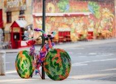 45 απίθανα σημεία η οχήματα της πόλης που διακοσμήθηκαν με πολύχρωμα πλεκτά - Κυρίως Φωτογραφία - Gallery - Video 40