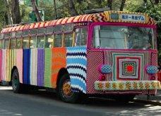45 απίθανα σημεία η οχήματα της πόλης που διακοσμήθηκαν με πολύχρωμα πλεκτά - Κυρίως Φωτογραφία - Gallery - Video 43