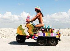 45 απίθανα σημεία η οχήματα της πόλης που διακοσμήθηκαν με πολύχρωμα πλεκτά - Κυρίως Φωτογραφία - Gallery - Video