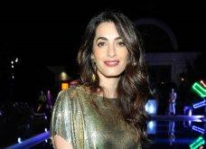 Η Αμάλ Αλμουντίν - Κλούνεϊ: Φόρεσε vintage mini dress χρυσό με ρεφλε λαδί & έλαμψε το... σύμπαν - Κυρίως Φωτογραφία - Gallery - Video