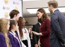 Με μπορντό μίνι η έγκυος για τρίτη φορά Kate Middleton κέρδισε τα βλέμματα με το χαμόγελο και τη λάμψη της (ΦΩΤΟ) - Κυρίως Φωτογραφία - Gallery - Video 12