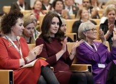 Με μπορντό μίνι η έγκυος για τρίτη φορά Kate Middleton κέρδισε τα βλέμματα με το χαμόγελο και τη λάμψη της (ΦΩΤΟ) - Κυρίως Φωτογραφία - Gallery - Video 18