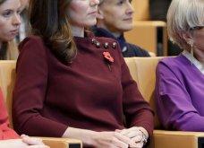 Με μπορντό μίνι η έγκυος για τρίτη φορά Kate Middleton κέρδισε τα βλέμματα με το χαμόγελο και τη λάμψη της (ΦΩΤΟ) - Κυρίως Φωτογραφία - Gallery - Video 19