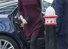 Με μπορντό μίνι η έγκυος για τρίτη φορά Kate Middleton κέρδισε τα βλέμματα με το χαμόγελο και τη λάμψη της (ΦΩΤΟ) - Κυρίως Φωτογραφία - Gallery - Video 2
