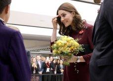 Με μπορντό μίνι η έγκυος για τρίτη φορά Kate Middleton κέρδισε τα βλέμματα με το χαμόγελο και τη λάμψη της (ΦΩΤΟ) - Κυρίως Φωτογραφία - Gallery - Video 22