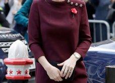 Με μπορντό μίνι η έγκυος για τρίτη φορά Kate Middleton κέρδισε τα βλέμματα με το χαμόγελο και τη λάμψη της (ΦΩΤΟ) - Κυρίως Φωτογραφία - Gallery - Video 23