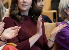 Με μπορντό μίνι η έγκυος για τρίτη φορά Kate Middleton κέρδισε τα βλέμματα με το χαμόγελο και τη λάμψη της (ΦΩΤΟ) - Κυρίως Φωτογραφία - Gallery - Video 27