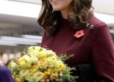 Με μπορντό μίνι η έγκυος για τρίτη φορά Kate Middleton κέρδισε τα βλέμματα με το χαμόγελο και τη λάμψη της (ΦΩΤΟ) - Κυρίως Φωτογραφία - Gallery - Video 28