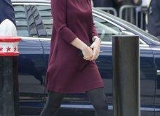 Με μπορντό μίνι η έγκυος για τρίτη φορά Kate Middleton κέρδισε τα βλέμματα με το χαμόγελο και τη λάμψη της (ΦΩΤΟ) - Κυρίως Φωτογραφία - Gallery - Video 5