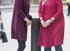 Με μπορντό μίνι η έγκυος για τρίτη φορά Kate Middleton κέρδισε τα βλέμματα με το χαμόγελο και τη λάμψη της (ΦΩΤΟ) - Κυρίως Φωτογραφία - Gallery - Video 7