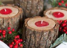 Χριστούγεννα! 70 φωτογραφίες, 11 διαφορετικά στυλ διακόσμησης για το σπίτι σας: Girly country vintage όλα!  - Κυρίως Φωτογραφία - Gallery - Video 14