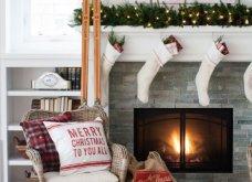 Χριστούγεννα! 70 φωτογραφίες, 11 διαφορετικά στυλ διακόσμησης για το σπίτι σας: Girly country vintage όλα!  - Κυρίως Φωτογραφία - Gallery - Video 22