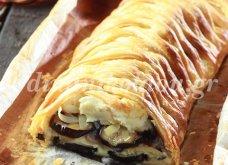 Θα εντυπωσιάσει τους καλεσμένους σας! - Μελιτζανόπιτα με τυριά και πλεχτή σφολιάτα από τη Ντίνα Νικολάου - Κυρίως Φωτογραφία - Gallery - Video