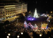 Good news: 14.000 λαμπάκια κάνουν τη νύχτα... μέρα στη συμπρωτεύουσα! Το δέντρο - υπερπαραγωγή στην πλατεία Αριστοτέλους - Κυρίως Φωτογραφία - Gallery - Video