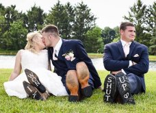"""Όταν ο κουμπάρος γίνεται ο """"τρίτος άνθρωπος"""" το αποτέλεσμα είναι οι πιο ξεκαρδιστικές φωτογραφίες γάμου που έχετε δει! (ΦΩΤΟ) - Κυρίως Φωτογραφία - Gallery - Video"""