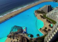 Εντυπωσιακότατο! Στη Χιλή η μεγαλύτερη πισίνα του πλανήτη - Αφήνει τους πάντες με ανοιχτό το στόμα με τις διαστάσεις της (ΦΩΤΟ) - Κυρίως Φωτογραφία - Gallery - Video 4
