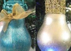 Και καλές μας γιορτές! Ιδού πώς θα μετατρέψετε τις παλιές σας λάμπες σε υπέροχα Χριστουγεννιάτικα στολίδια - Κυρίως Φωτογραφία - Gallery - Video 4