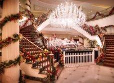 Εμείς τα Χριστούγεννα βάζουμε γιρλάντες, δώρα, παιχνίδια και πανέμορφα στολίδια στις σκάλες του σπιτιού! Δεν είναι υπέροχα;  - Κυρίως Φωτογραφία - Gallery - Video